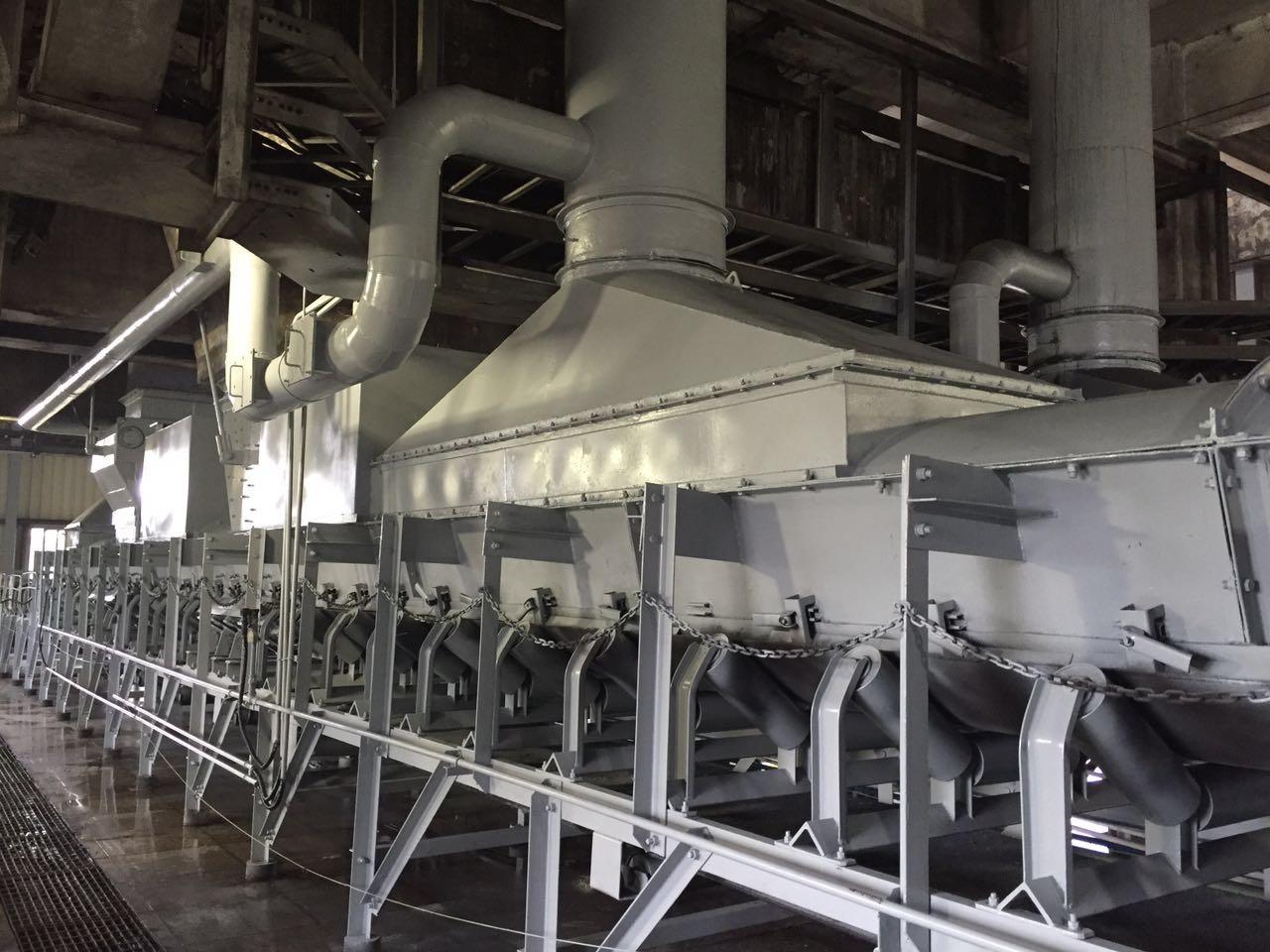 输煤系统专用无动力减量降尘装置